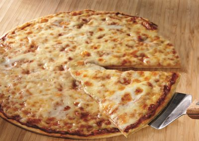 Ginos East Chicago Thin Crust Cheese Pizza